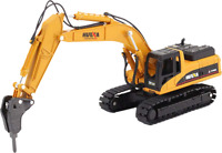1/50 Scale Huina Die-cast Construction Vehicle Drill Excavator 1711
