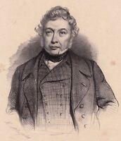 Portrait Michel-Nicolas Balisson de Rougemont La Rochelle Charente Maritime