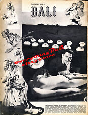1942 Magazine Story Written and Designed By Salvador Dali