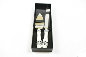 HIS & HERS WEDDING SERVING SET (KNIFE AND SPATCHLER)