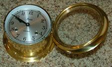 Old original Boston Ship's Clock / Marine Clock - Excellent condition