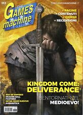 The Games Machine 2018 353.Kingdom Come:Deliverance,Ni No Kuni II,Crossing Souls