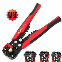 Automatic Cable Wire Crimper Crimping Hand Tool Stripper Adjustable Plier Cutter