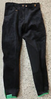 Cavallo  Reithose Derby ,Kniebesatz, schwarz, Cord  Gr. 40
