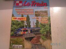 **h Le Train n°278 Locomotives à vapeur et voiture Talbot   Thalys PBKA Märlklin