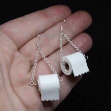 Toilettenpapier Hamsterkäufe Ohrringe Paar Klo poop Klopapier M3M3