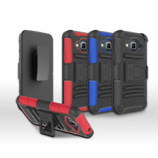 For Samsung Galaxy J3 2016/ J320 Armor Holster Cover Case With Belt Clip