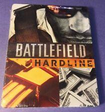 Battlefield Hardline Collector's STEELBOOK Case [ G2 Size / NO Game ]  NEW