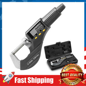 Digital Micrometer Inch/Metric Thickness Measuring Tools Thickness Gauge