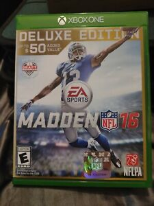 Madden NFL16 Xbox one Deluxe Edition Xbox 1 - Brand New Factory Sealed Free Ship