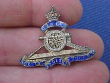 Original Wwi Canadian Artillery Sweetheart Pin - Sterling ?