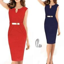 Knee-Length Wear to Work Petites Dresses for Women
