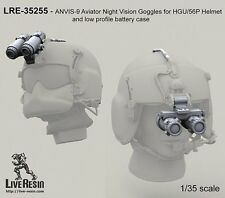 Live resin 1/35 #35255 ANVIS - 9 Aviateur Lunettes de vision nocturne pour HGU/56P Casque