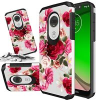 For Motorola MOTO G7 Play Power SUPRA OPTIMO MAXX Phone Case  +Tempered Glass