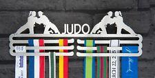 Judo Female Triple Tier Stainless Steel Medal Hanger Display