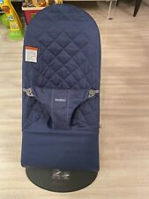 Baby Bjorn Bouncer In Quilted Blue Fabric
