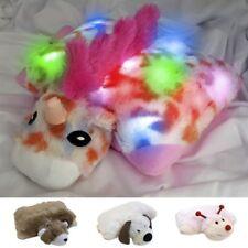 "Dazzle Pets New 13"" Amara The Unicorn Plush Light Up LED Doll/Pillow Kids 3+"