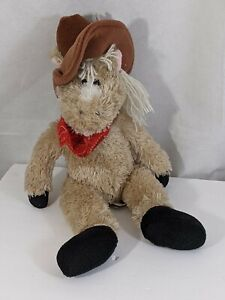 "First & Main Rough Wrangler Horse Plush 16"" Western Cowboy Stuffed Animal Toy"