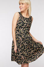 Dangerfield  Beetle Dress in Black