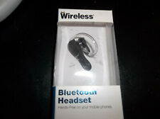 Just Wireless Bluetooth Headset Hands Free Mobile Phones Noise Reduction. NEW