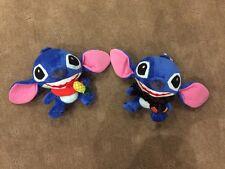 Set of 2 - Disney - Lilo & Stitch - Stitch - 16cm Plush Soft Toy - Brand New