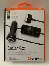 Griffin iTrip Auto Charger/FM Transmitter - iPod touch 2/3/4 iPhone 3g/3gs/4/4s
