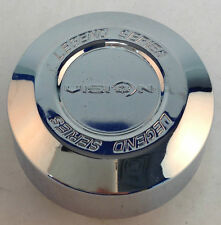 Vision Wheels 141 Legend Series New Logo Chrome Wheel Center Cap 141-T-V VIS28