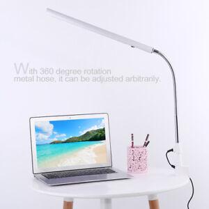 Desk Light eading Nail Art Tattoo Lamp  Rotatable LED Lamp Eye Care Light
