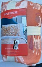 "Opalhouse IKAT Velvet Tufted Sham, Cream & Tan, Standard 20"" x 26"" New With Tags"