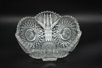 "J Hoare Corning American Brilliant Period ABP Jappy Hobstars & Fans 8"" Bowl"