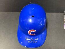 Phil Cavarretta Chicago Cubs MVP 45 Autographed Signed Souvenir Full Size Helmet