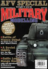 Military Modelling March 2007 AFV British Cruiser A10 Soviet KV3 A37 Comet VC