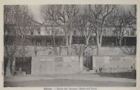 Postcard France Salon Ecoles des Garcons - Boulevard David 1940s