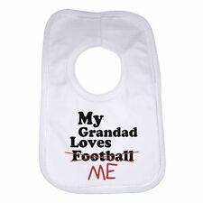 pour les fans de football Bavoir bébé personnalisé-Blanc Moi et mon papa d/'amour Liverpool