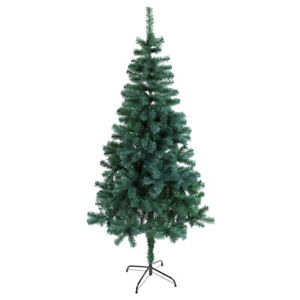 VIROSA 7ft Green Artificial Christmas Tree with 550 Virgin PVC Tips | Easy