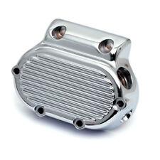 Getriebedeckel rechts, Ribbed, Chrom, für Harley-Davidson Big Twin 87-06