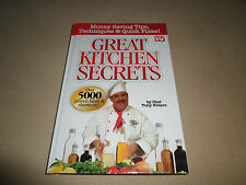 Great Kitchen Secrets By Tony Notaro~2013, Hardcover~Over 5000 Hints & Tips~NEW