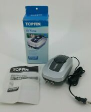 NEW TopFin Air-4000 Air Pump Fish Aquariums up to 80 Gallons Bubbler 3.5 Watts