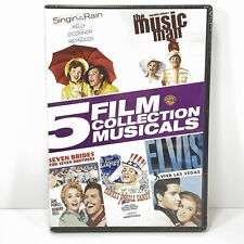 Singin' In The Rain, The Music Man, Seven Brides for Seven Brothers Dvd - New