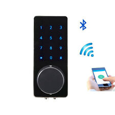 Bluetooth Smart Digital Door Lock Keyless Touch Password Home Security Deadbolt