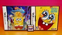 3 SpongeBob's Atlantis SquarePantis, Truth, Toy Bots Nintendo DS DS Lite 3DS 2DS