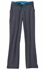 Jockey Scrubs #2313 Elastic/Drawcord Cargo Scrub Pant in Charcoal Size S-Petite