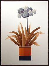 "John Martineau ""Agapanthus"" Fine Art Intaglio Print Hand Signed 1980s Make Offer"