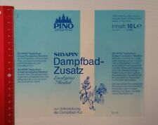 Aufkleber/Sticker A4: Pino pharma Silvapin Dampfbad-Zusatz Eucalyptus (09041683)