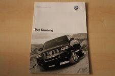 69387) VW Touareg - Preise & Extras - Prospekt 11/2004