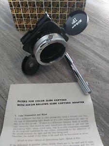 Nikon F Slide Copy Bellows Camera Attachment