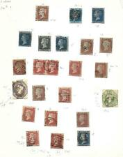 Great Britain stamps Collection of CLASSIC stamps HIGH VALUE!