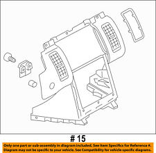 FORD OEM 13-16 Flex Instrument Panel Dash-Center Bezel Trim DA8Z7404302BB