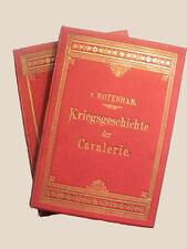 Kriegsgeschichte der Cavallerie - 2 Bände - 1891