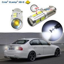 3W CREE w/ 8-SMD H21W LED Bulbs For 16-up BMW F30 3 Series Backup Reverse Lights